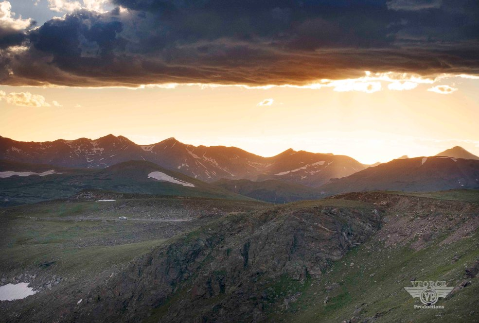 Sunset rocky mt nt park_cc
