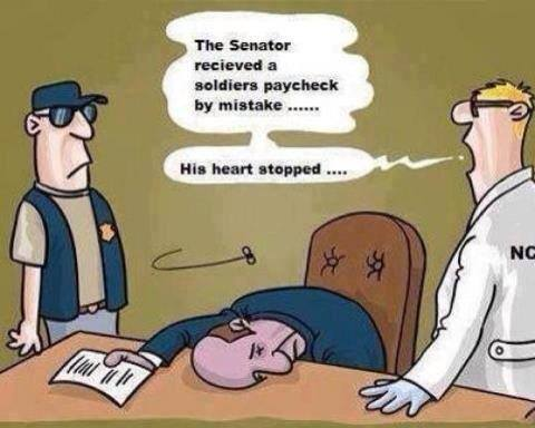 comic on soldier pay