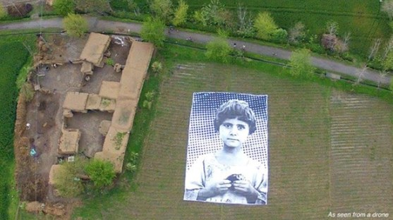 Pakistan anti drone art
