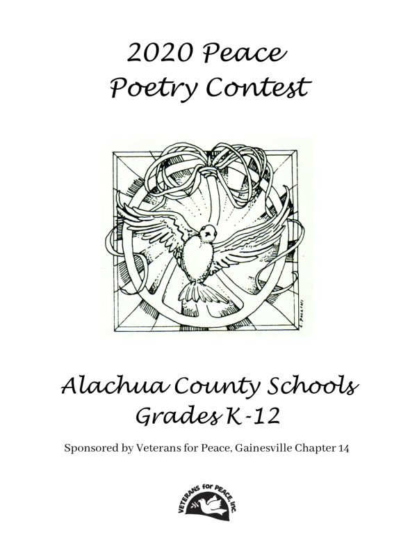 Peace Poetry 2020 Booklet