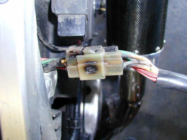 Motorcycle Stator Wires Getting Hot