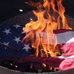 American Flags properly retired in Remond