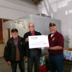 Post presents $1000 VFW Foundation Grant to St. Vincent DePaul