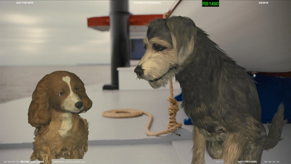 The Dogged Pursuit Of Character In Live Action Lady And The Tramp Vfx Voice Magazinevfx Voice Magazine