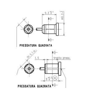 PRESSATURA QUADRATA