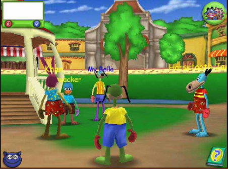 Toontown Online Game View Single Trivia VGFacts