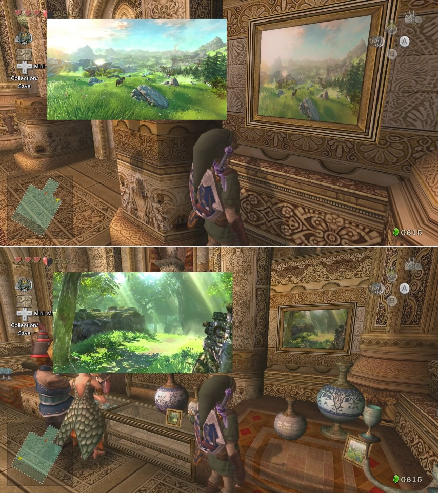 The Legend Of Zelda Twilight Princess HD Game View