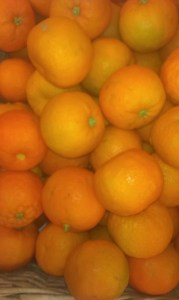 Seville oranges for home made marmalade