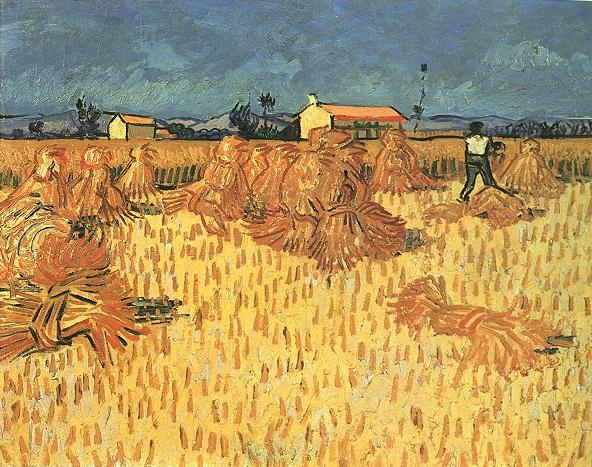 Vincent Van Gogh The Paintings Harvest In Provence