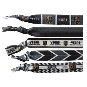 Vegas Golden Knights hair ties