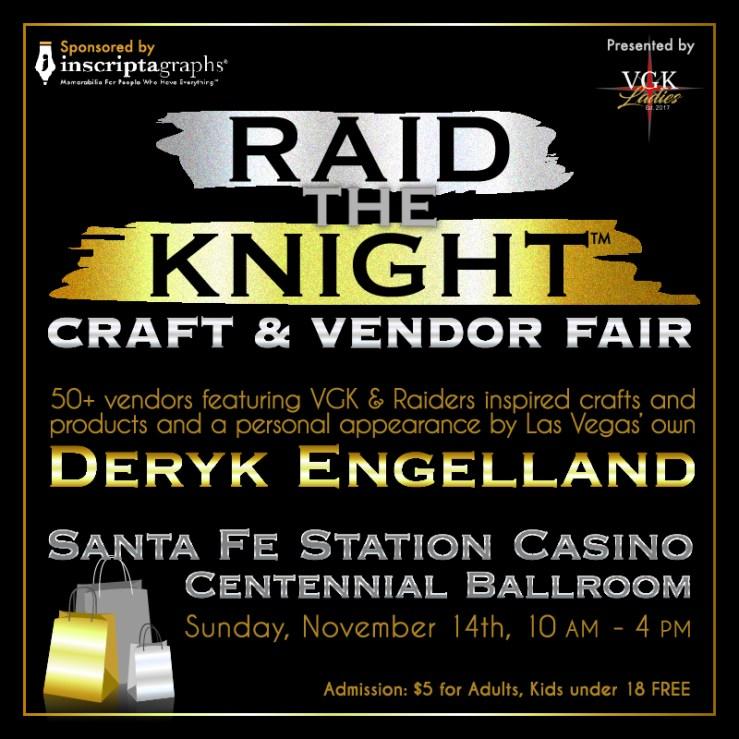 Raid The Knight Vendor Fair