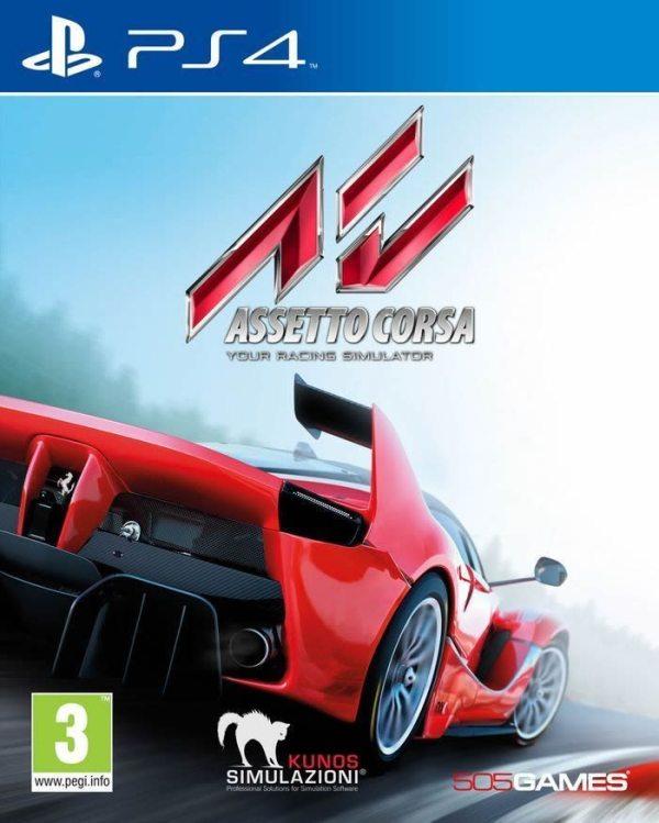 Assetto Corsa - Packshot PS4
