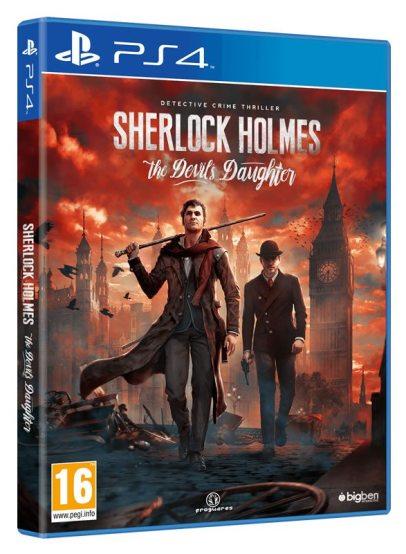 Sherlock Holmes The Devils Daughter - PS4