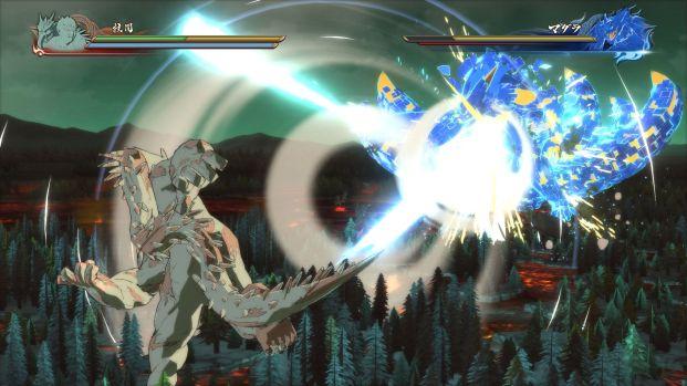 L'incredibile scontro iniziale tra Madara Uchiha e Hashirama Senju.