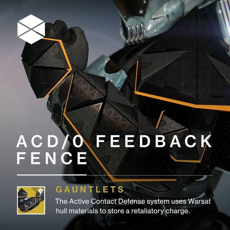 Destiny - Barra a Reazione ACD/0