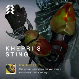 Destiny - Pungiglione di Khepri