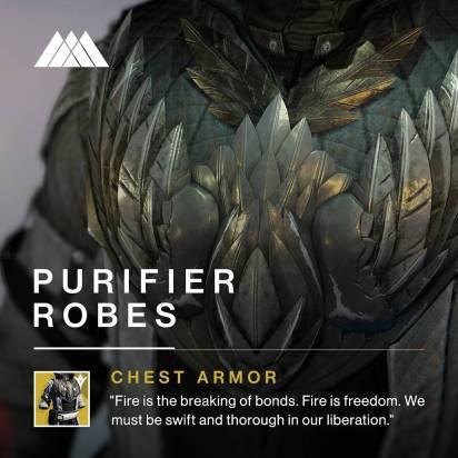 Destiny - Veste Purificatrice