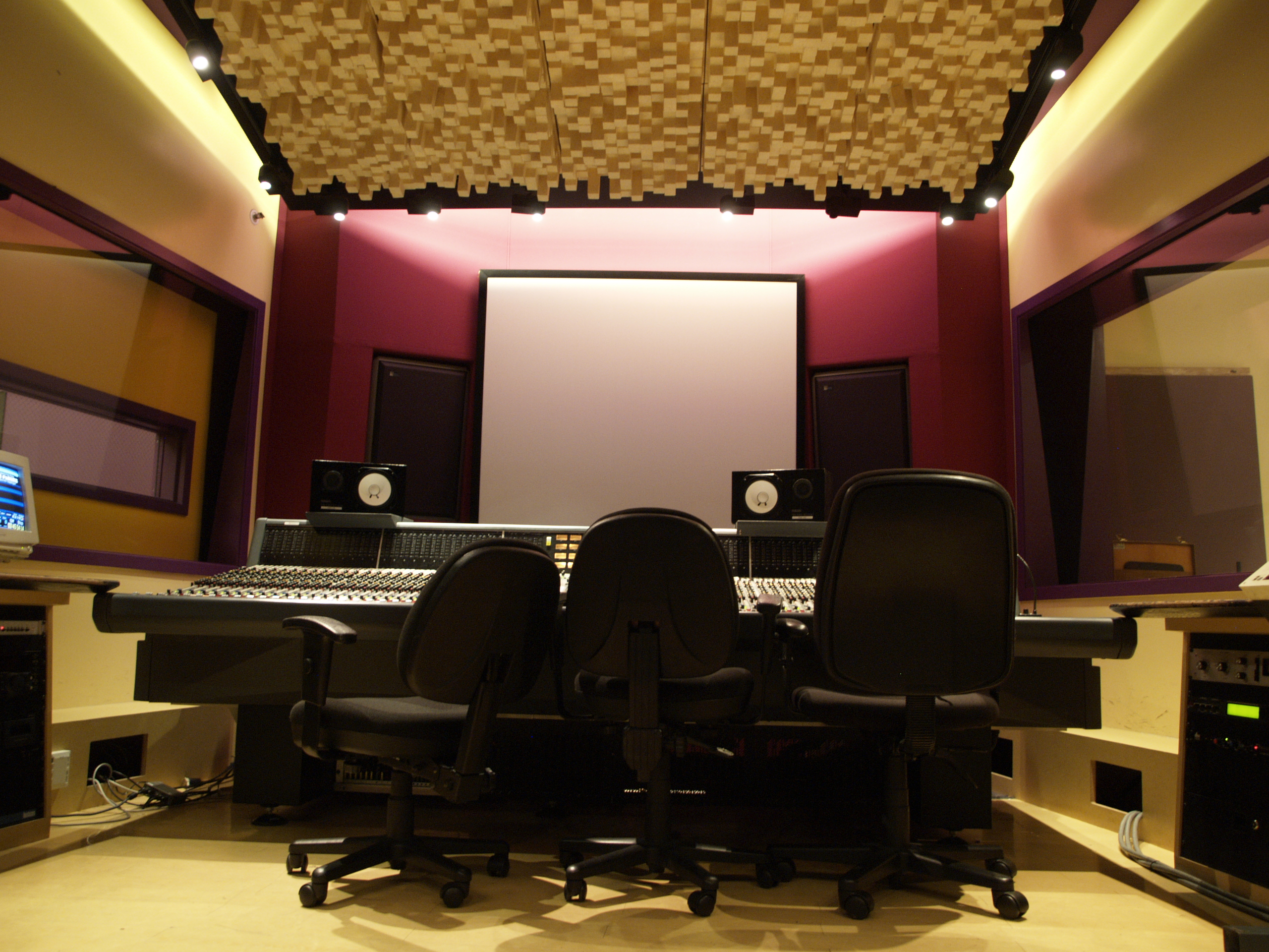 Recording Studio Acoustic Installations from Vgosh Interior