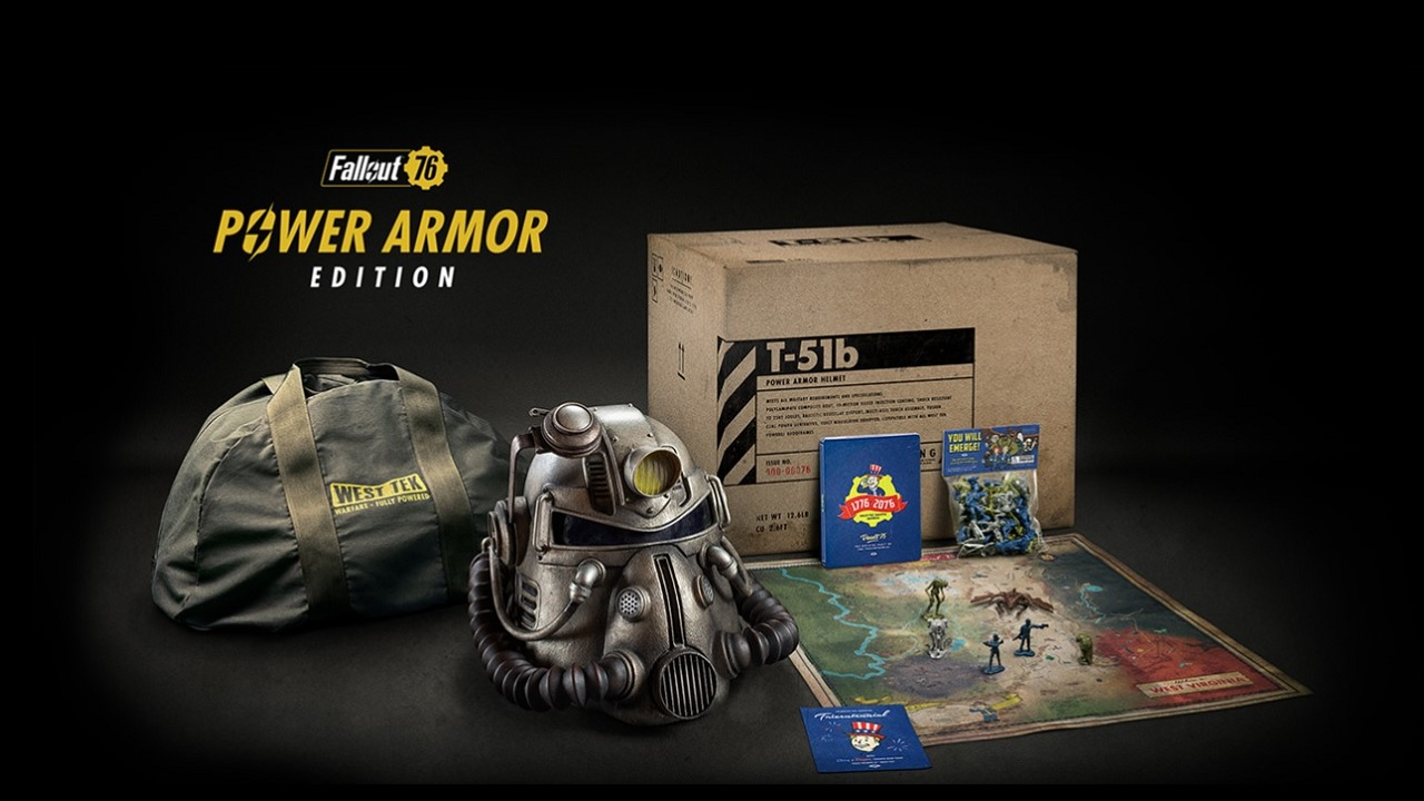 Fallout 76 Offers A Collectors Edition Complete With