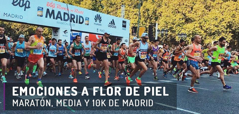 Crónica 2017 - Maratón, media y 10k de Madrid.