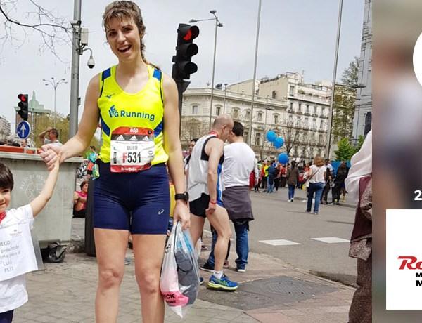 Maratón Madrid - Lourdes Martínez