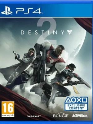 Destiny 2 PS4 cover