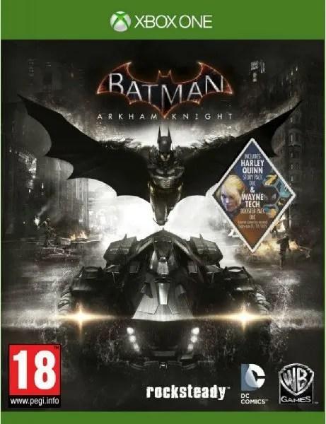 Batman Arkham Knight Xbox One cover