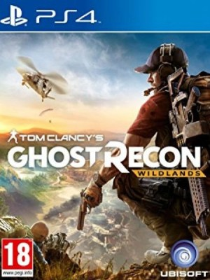 Tom Clancy's Ghost Recon Wildlands PS4 cover