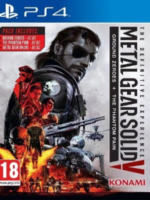 Metal Gear Solid V The Definitive Experience PS4 cover
