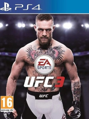 UFC 3 Playstation 4 cover