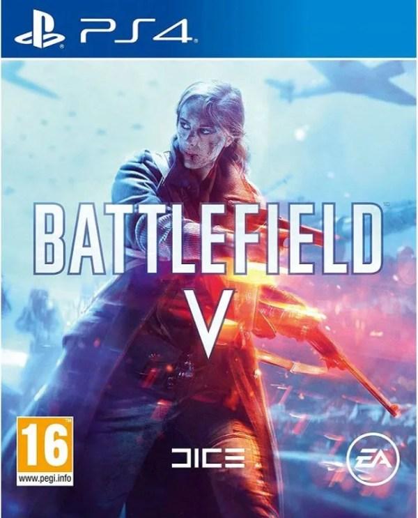 Battlefield V Playstation 4 cover