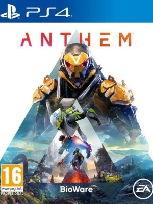 Anthem Playstation 4 cover