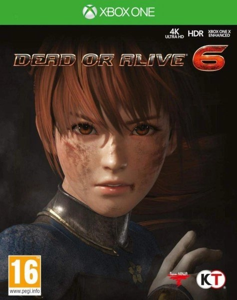 Dead or Alive 6 Xbox One cover