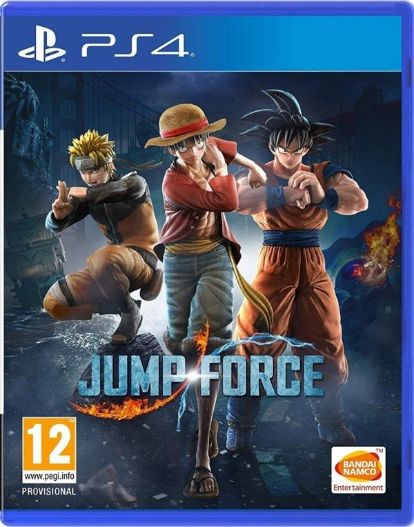 Jump Force Playstation 4 cover