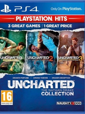 Uncharted The Nathan Drake Collection Playstation 4 cover