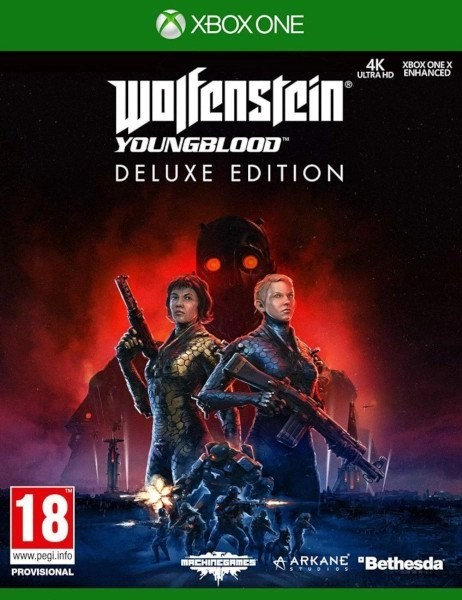 Wolfenstein Youngblood Xbox One cover