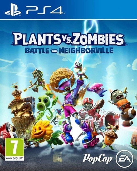 Plants vs Zombies Battle for Neighborville - Playstation 4 cover