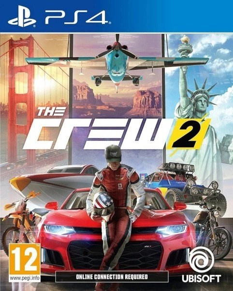 The Crew 2 Playstation 4 cover