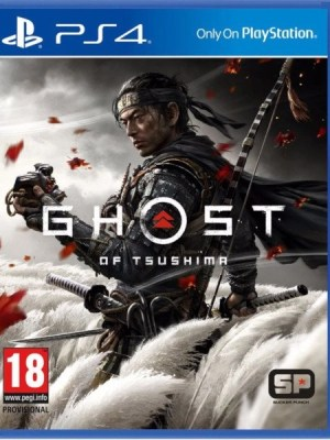 Ghost of Tsushima Playstation 4 cover