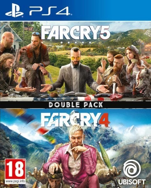 Far Cry 4 + 5 Playstation 4 cover