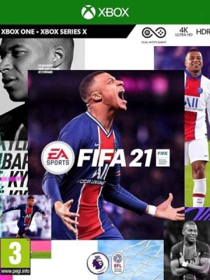 FIFA 21 Xbox One cover
