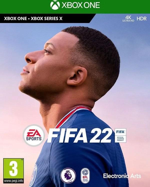 FIFA 22 Xbox One cover