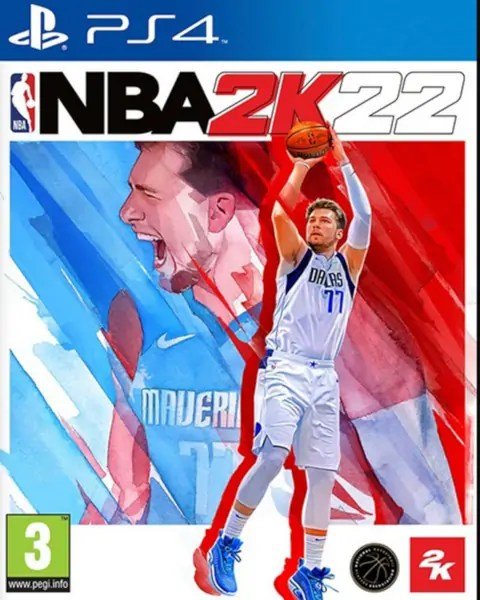 NBA 2K22 PS4 cover