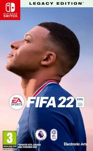 FIFA 22 Nintendo Switch cover