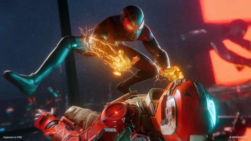 Spider Man Miles Morales Screenshot