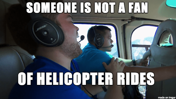 helicopterscared
