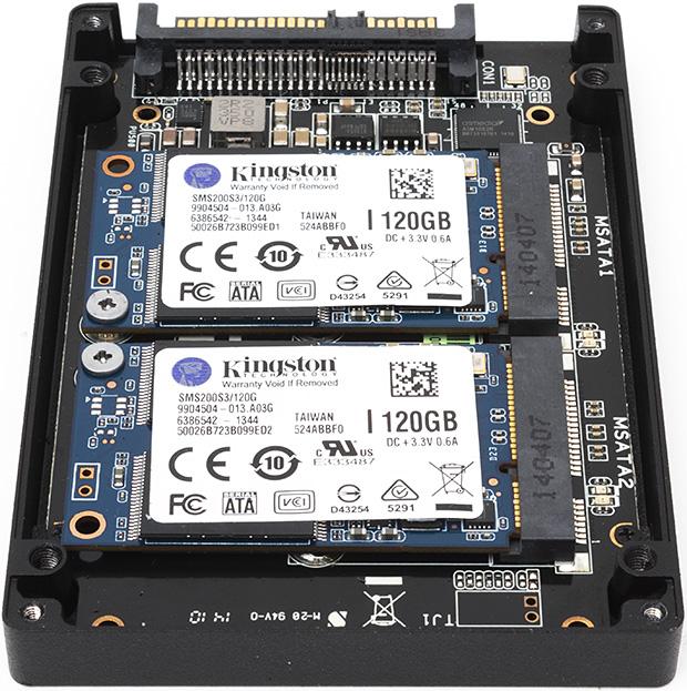 Uno de los primeros SSD Sata Express. Son 2 memorias en RAID 0: Así pueden llegar al ancho de banda disponible.