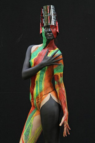 Gerald Wochinger: Bodypainting 6