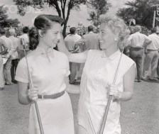 Alice Bauer Hagge with her Sister Marlene