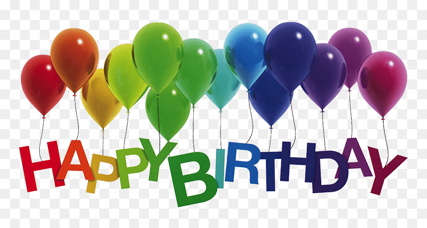 Happy Birthday Balloons Transparent Hd Png Download Vhv